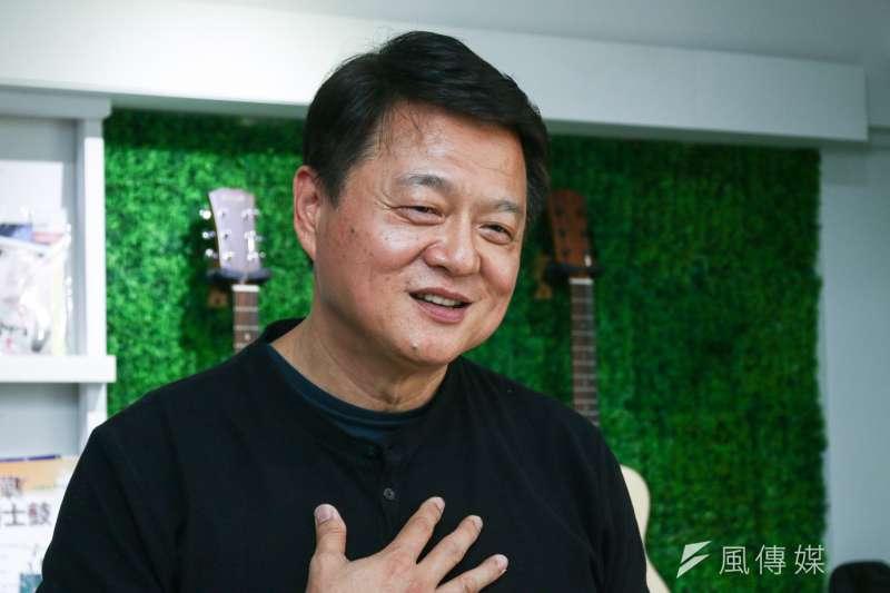 前台北縣長周錫瑋拋出國民黨二階段初選的主張。(蔡親傑攝)