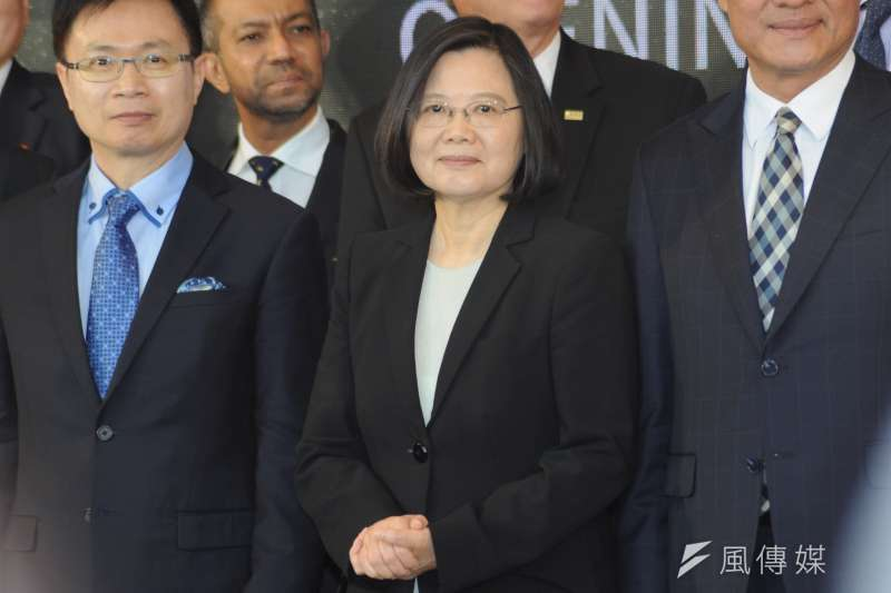 總統蔡英文21日到28日將出訪太平洋友邦帛琉、諾魯,展開海洋民主之旅。(資料照,甘岱民攝)