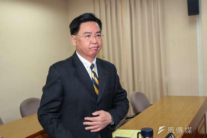 20190304-外交部長吳釗燮4日出席立院外交國防委員會。(顏麟宇攝)