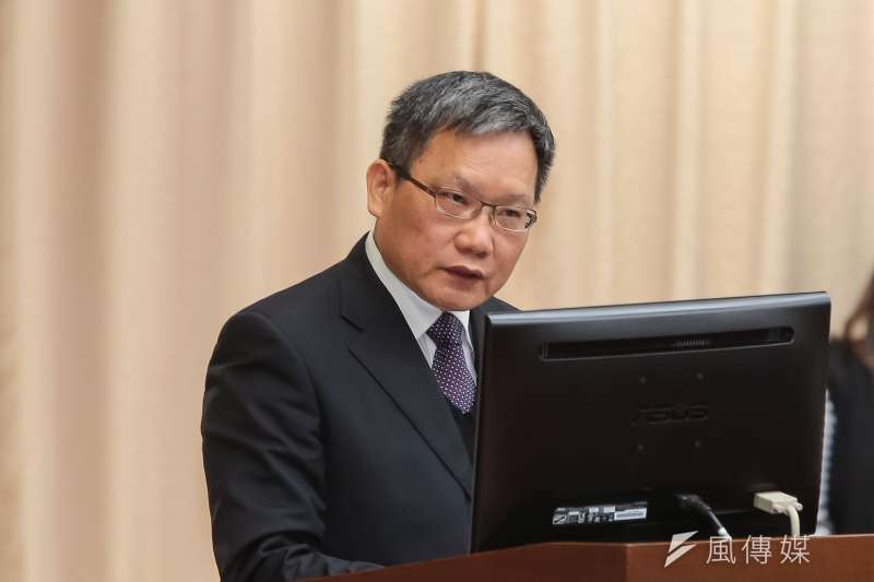 20190304-財政部長蘇建榮4日於立院財政委員會報告。(顏麟宇攝)