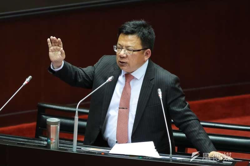 民進黨立委初選,嘉義市立委李俊俋意外落馬。(資料照片,顏麟宇攝)