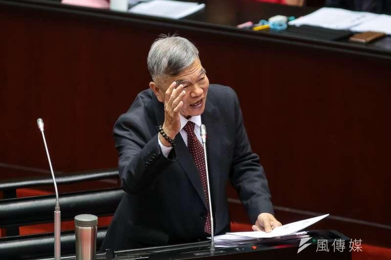 經濟部長沈榮津。(顏麟宇攝)