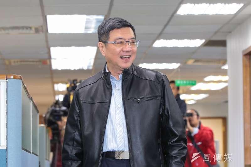民進黨主席卓榮泰6日出席民進黨中常會,針對2020年立委選舉提出3原則。(資料照,顏麟宇攝)