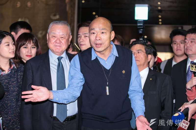 高雄市長韓國瑜的「台獨梅毒說」引來呂秋遠律師抨擊。(顏麟宇攝)