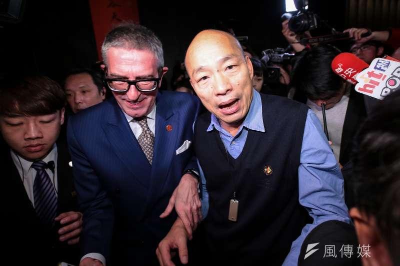 20190306-高雄市長韓國瑜6日出席工商協進會理監事聯席會議。(顏麟宇攝)
