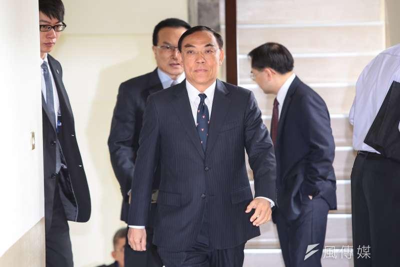 20190306-法務部長蔡清祥6日出席立院司法法制委員會。(顏麟宇攝)