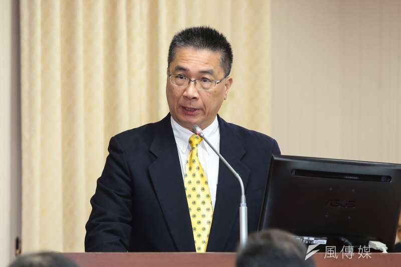 針對酒駕議題,內政部長徐國勇6日於內政委員會備詢時,表示希望將杜絕酒駕行為由他律變自律。(顏麟宇攝)