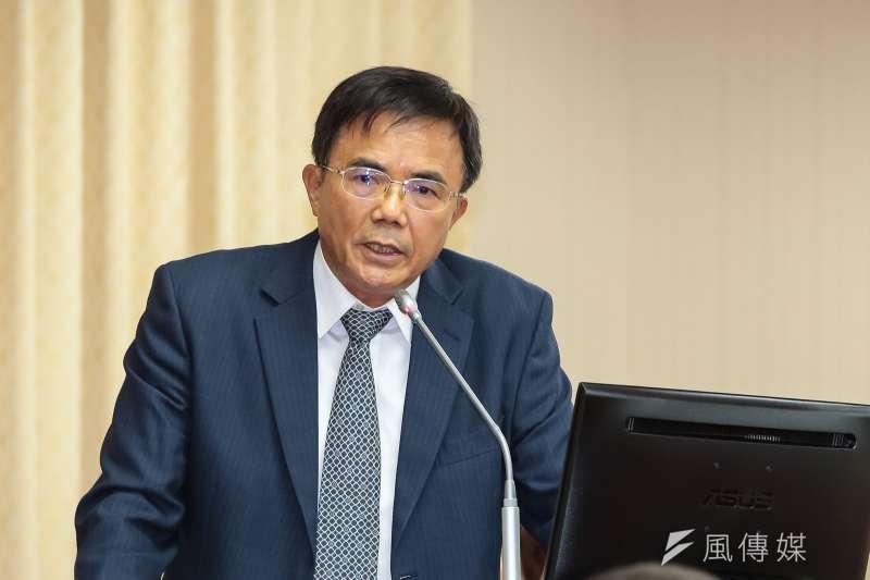務部次長蔡碧仲談假訊息入刑法。(資料照片,顏麟宇攝)
