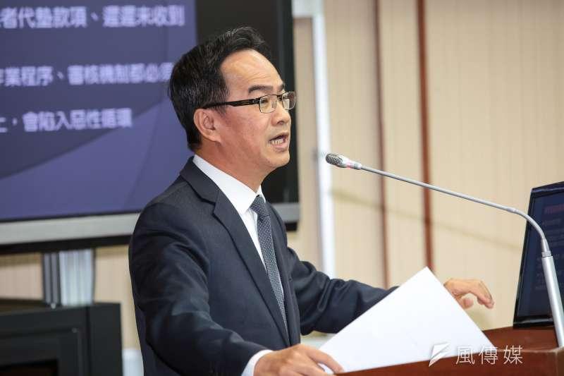 20190306-民進黨立委李昆澤6日於交通委員會質詢。(顏麟宇攝)