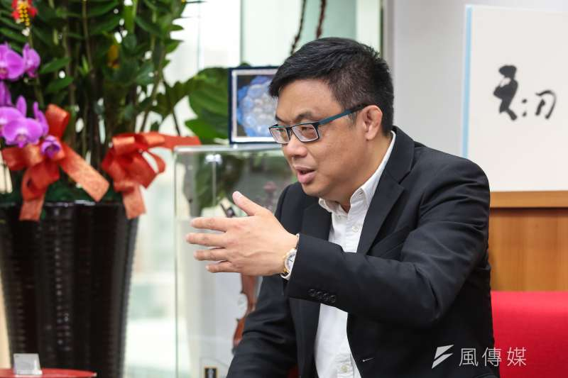 20190307-香港立法會議員涂謹申7日至立院拜會民進黨立委管碧玲。(顏麟宇攝)