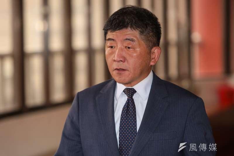 衛福部長陳時中在日內瓦接受日本《共同社》專訪。2020東京奧運在即,陳時中指出,將台灣排除在防疫體系之外,可能危害東京奧運。(資料照,顏麟宇攝)