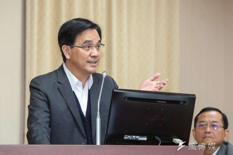20190307-原民會主委夷將‧拔路兒7日於立院內政委員會備詢。(顏麟宇攝)