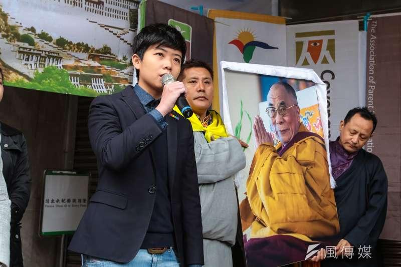 20190307-社民黨台北市議員苗博雅7日出席「310西藏抗暴日60週年,浩劫一甲子,西藏要自由」記者會。(顏麟宇攝)