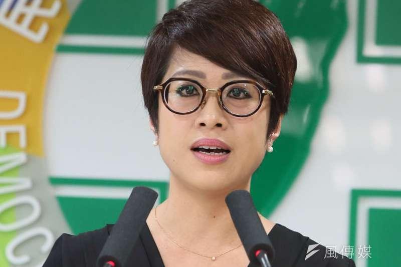 李晏榕一度漏接羅文嘉邀約任民進黨黨職的電話。(柯承惠攝)