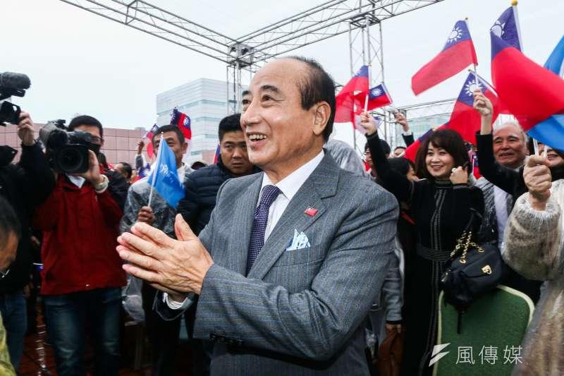 前立法院長王金平宣布參選2020總統大選。(資料照,蔡親傑攝)
