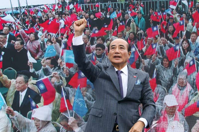 前立法院長王金平7日正式宣布參選2020總統大選。(蔡親傑攝)
