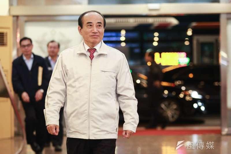 近日宣布參選總統的前立法院長王金平,回應師大助選問題。(資料照片,簡必丞攝)