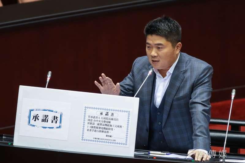 甫接任國民黨總統參選人韓國瑜競選辦公室副執行長的藍委顏寬恒(見圖)認為,待藍營整合確定日之後,韓低迷的民調狀況應可改善。(資料照,顏麟宇攝)