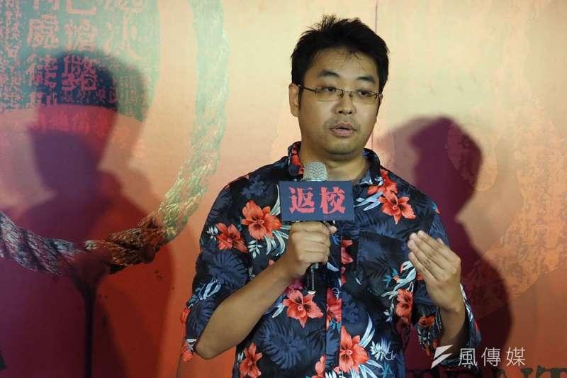 赤燭創辦人姚舜庭說:「做台灣元素的遊戲,沒有人能贏得了台灣。」(林瑞慶攝)