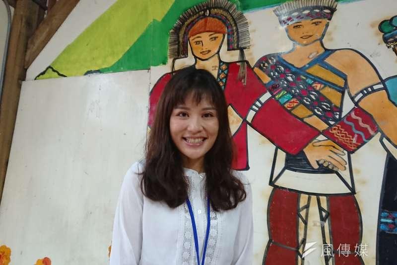 20190310 uploaded-天如專題配圖-嘉義基督教醫院家醫科醫師安欣瑜說,阿里山隔代教養家庭比例極高,幼兒在缺乏足夠教育刺激的情況下,發展遲緩的情況層出不窮。(黃天如攝)