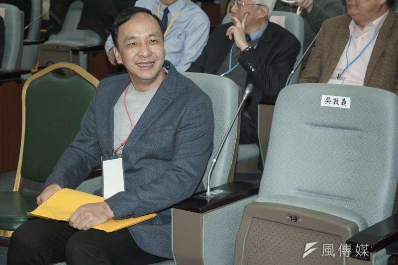 20190310-2019年民間能源會議,前新北市長朱立倫出席。(甘岱民攝)