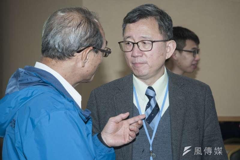 20190310-2019年民間能源會議,前台大醫院副院長王明鉅。(甘岱民攝)