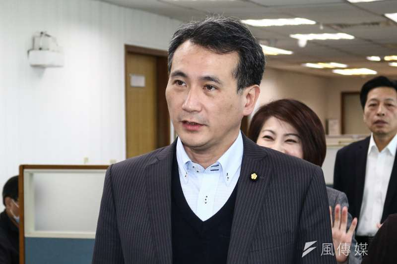 民進黨立委鄭運鵬建議協調「蔡賴配」。(資料照片,蔡親傑攝)