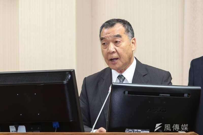 總統府24日宣布,由前退輔會主委邱國正接掌國安局。(資料照,顏麟宇攝)