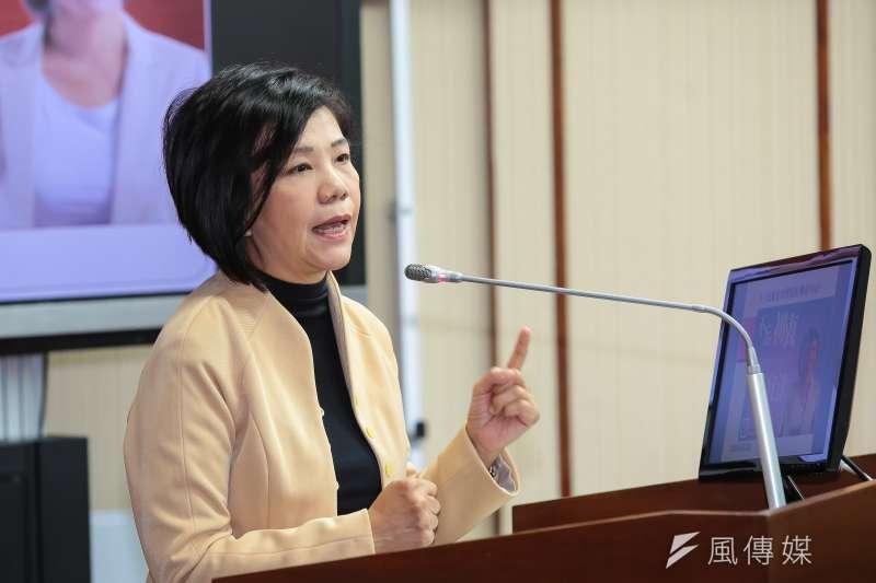 競爭相當激烈、尋求7連霸的現任立委葉宜津(見圖)所在的台南市第1選區,則將會在明晚進行民調,該區共4人競爭。(資料照,顏麟宇攝)
