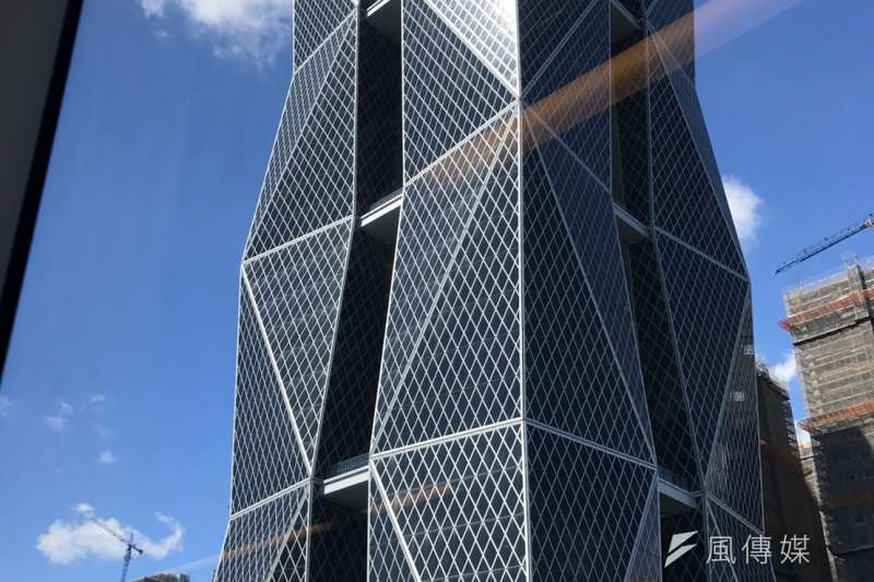 高雄市中鋼總部大樓。(呂紹煒攝)