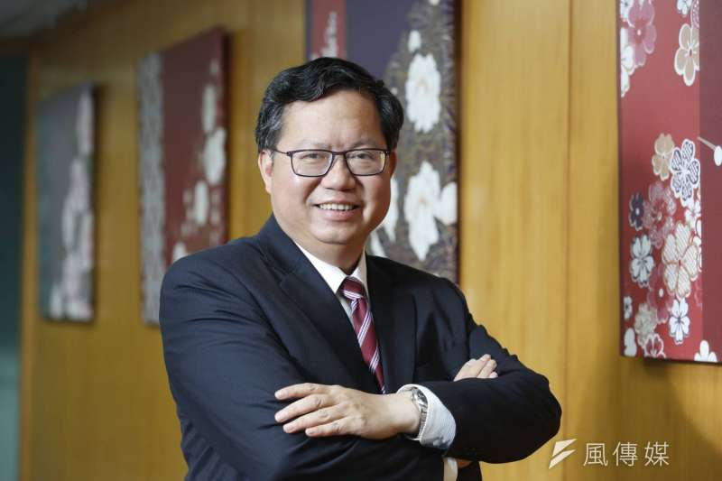 桃園市長鄭文燦接受《新新聞》及《風傳媒》專訪。談及政治人物「網紅現象」,鄭文燦表示核心還是執政要做好。(新新聞郭晉瑋攝)