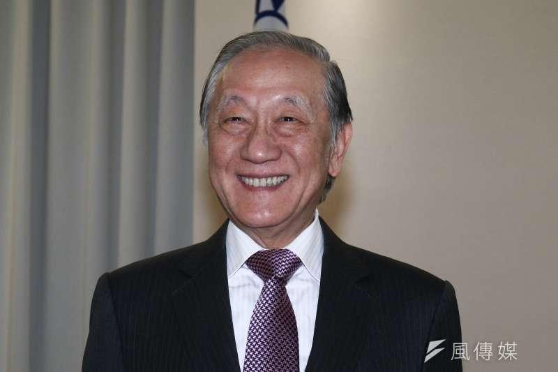 新黨主席郁慕明表示,若新黨能執政,3個月之內把蔡政府違憲、違法作為通通廢除,並直指不當黨產委員會是黑機構。(資料照,蔡親傑攝)