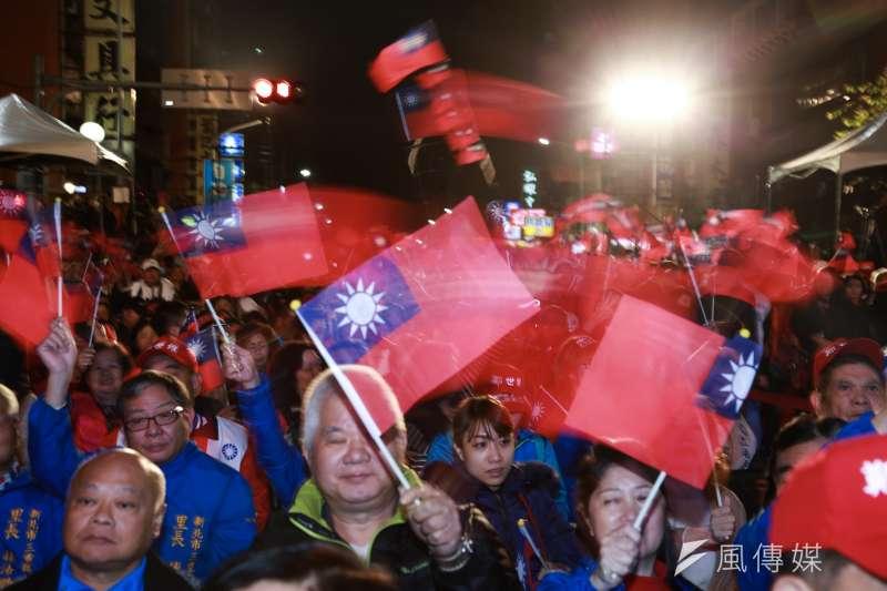 當選市議員者才就任就又要靠韓流爭選立委,不是國民黨贏的策略。(簡必丞攝)