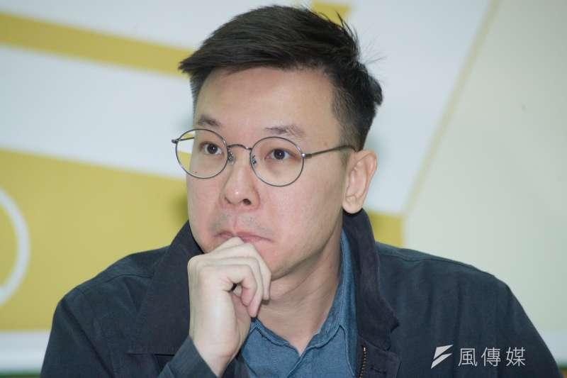 林飛帆(如圖)認為韓國瑜在思考事情時,應該不是透過庶民的角度。(資料照,甘岱民攝)