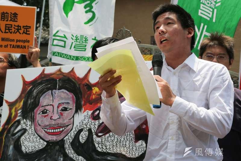 20140613-SMG0019-068-立法院,台左維新等社會公民團體記者會,王奕凱。(余志偉攝)