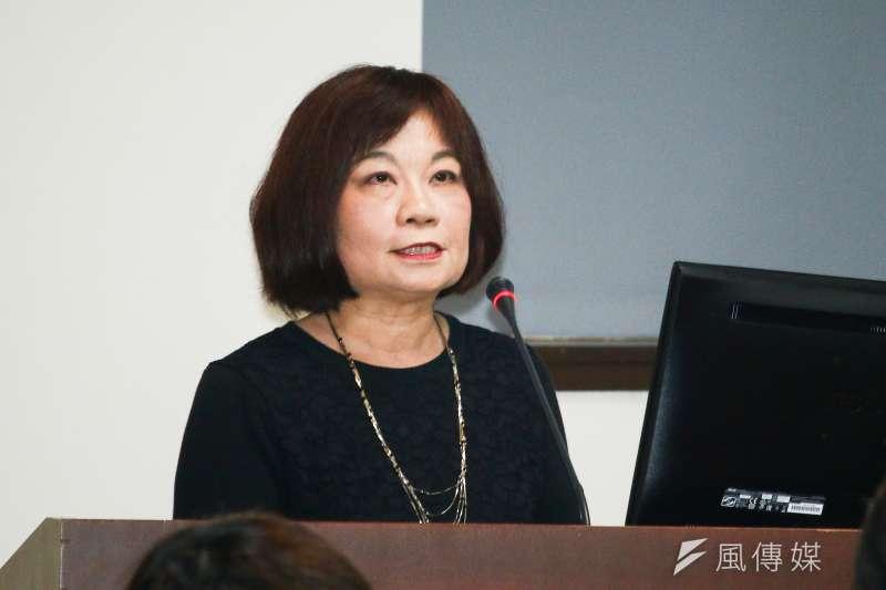 國發會主委陳美伶說台灣是自由貿易島,實際情況則恐怕未必。(蔡親傑攝)