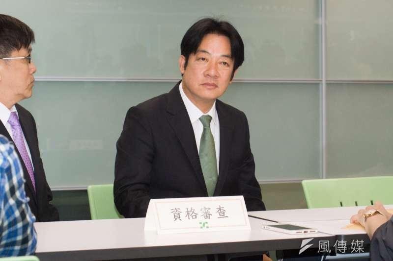 20190318-前行政院長賴清德領表登記參選總統。(甘岱民攝)