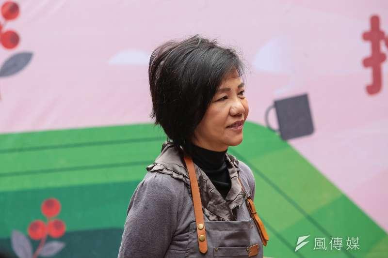 20190319-民進黨立委葉宜津19日出席台南東山咖啡推廣記者會。(顏麟宇攝)