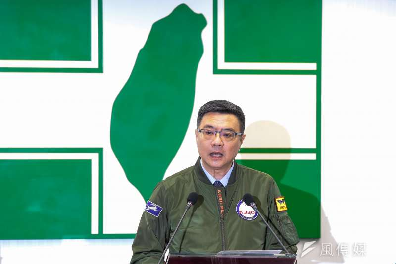 20190320-民進黨主席卓榮泰20日於中常會上發言。(顏麟宇攝)