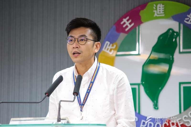 針對2020立委選舉,民進黨在新竹縣第二選區,擬推派民進黨發言人周江杰出征。(資料照,顏麟宇攝)
