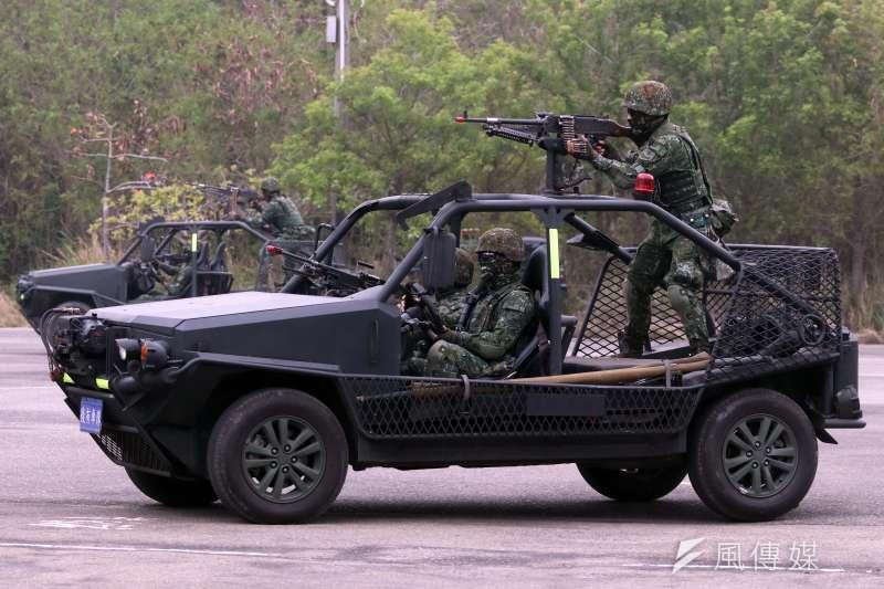 20190320-特戰突擊車。(蘇仲泓攝)