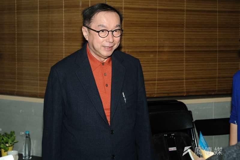 廣達董事長林百里30日現身經濟部每周例行的部務會議,引起關注。(資料照,甘岱民攝)