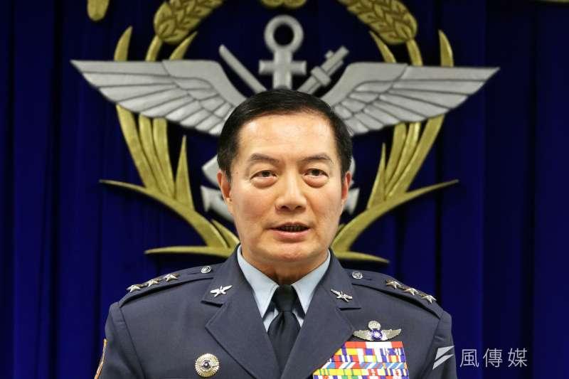 20190324-國防部軍政副部長沈一鳴上將。(蘇仲泓攝)