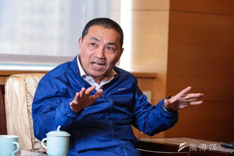 20190326-新北市長侯友宜專訪。(顏麟宇攝)