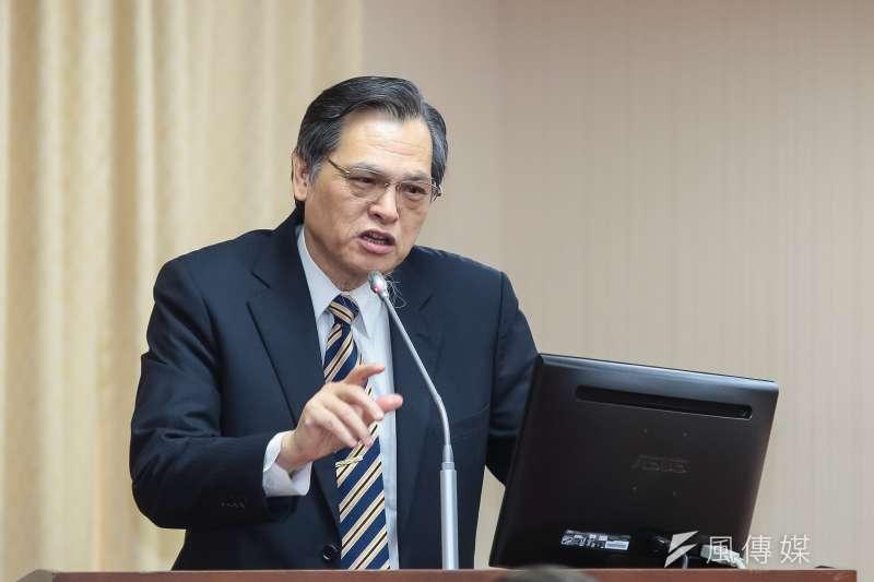 20190327-陸委會主委陳明通27日於內政委員會備詢。(顏麟宇攝)