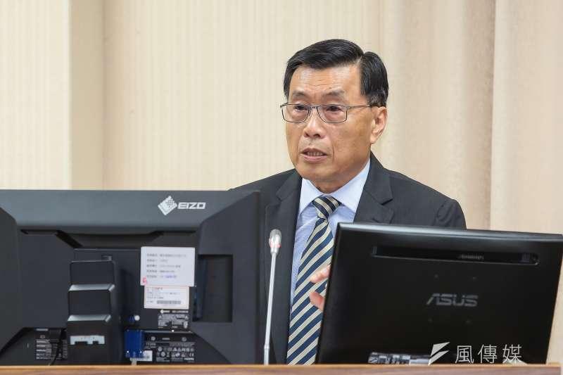 國安局長彭勝竹因特勤人員走私免稅菸事件,請辭獲准。(資料照,顏麟宇攝)