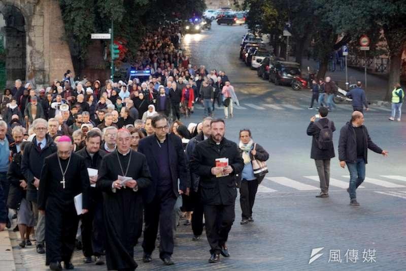 羅馬殉道者日遊行(曾廣儀攝)