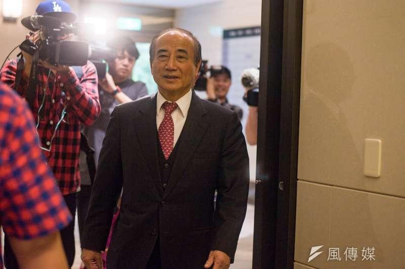 前立法院長王金平(見圖)17日表示,前鴻海幕僚已致電給他,告知郭台銘將宣布參選,並且會投入國民黨初選。(資料照,甘岱民攝)