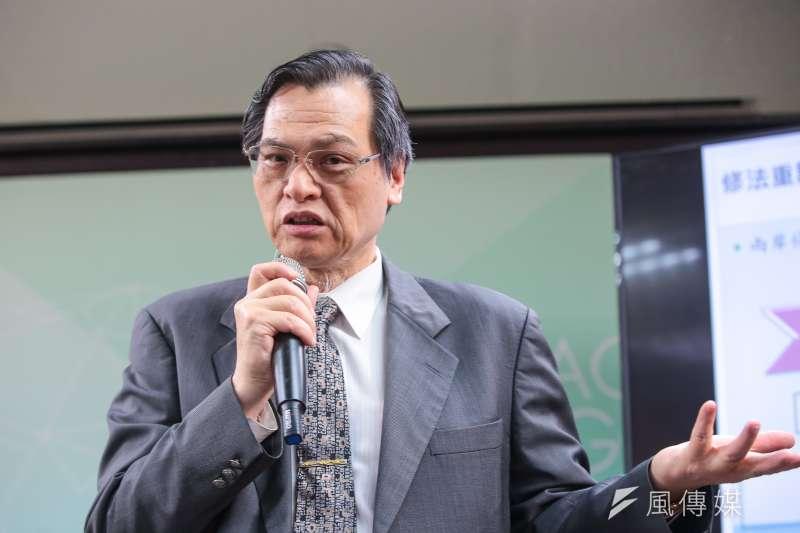 陸委會主委陳明通1日接受廣播專訪,談到高雄市長韓國瑜踏入香港中聯辦爭議一事,重申這是北京當局在年初提出「習五條」展開統一台灣進程之後,精心設計的「一國兩制台灣方案」之旅。(資料照,顏麟宇攝)