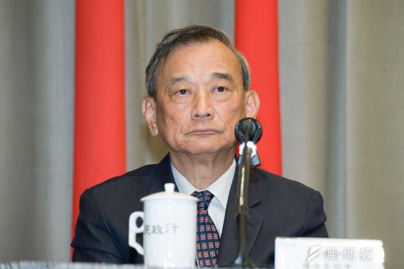 20190328-行政院記者會,法務次長陳明堂。(甘岱民攝)